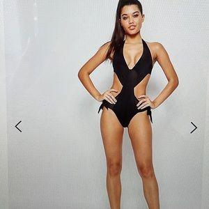 Pour moi? Tie Cut Out Swimsuit
